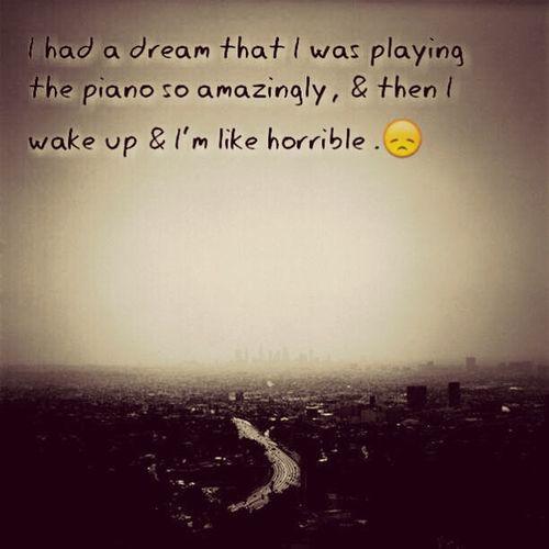 #dream #sadness