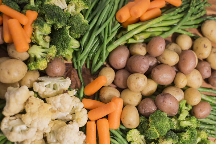 Grilled Vegetables Abundance Backgrounds Broccoli Choice Close-up Day Diet Food Food And Drink For Sale Freshness Grilled Healthy Eating Large Group Of Objects Market Market Stall No People Outdoors Platter Retail  Variation Vegetable
