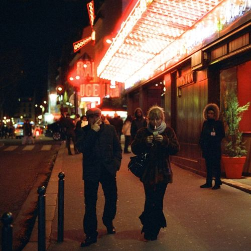 35mm Film Nightphotography Nikon F4 Cinestill800t Film Photography Filmphotography Illuminated Night Real People