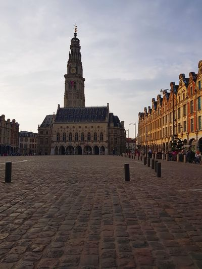 Arras History Architecture Close-up Outdoors Day Textured  France Pavés Place Des Héros
