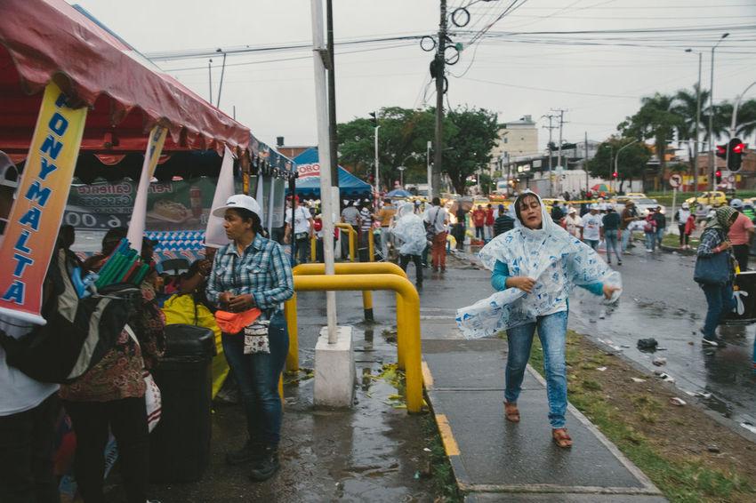 Colombia El Papa El Papa En Colombia PAPA FRANCESCO Papa Francisco Pope Villavicencio Adult City Lifestyles Outdoors People Pope Francis  Real People Sky Women
