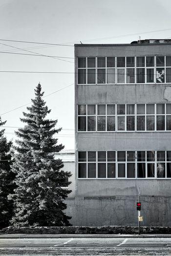 No People Ruslan Ovsyanko Ukraine Light And Shadow Hello World Luhans'k, World Day Black & White Sky Street