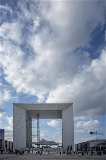 L'arche De La Defense Architecture City Eye4photography