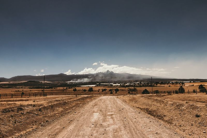 Mount Kenya Africa Mount Kenya Kenya Mountain EyeEm Selects Mountain Landscape Nature Scenics Beauty In Nature Transportation Cloud - Sky Tranquil Scene The Way Forward Mountain Range Tranquility Outdoors No People Day Road Sky The Great Outdoors - 2018 EyeEm Awards