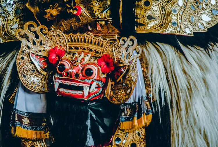 mask in bali