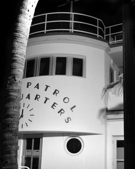 Miami Beach Architecture Beach Patrol Building Building Exterior Built Structure Clock Clock Face Close-up Day Glass - Material Instrument Of Time Lifeguard  Low Angle View Minute Hand Nature No People Number Outdoors Time Wall - Building Feature Window