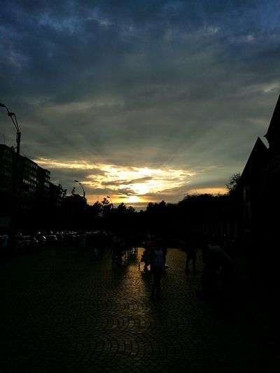 Sunset Sunrays Sunset_collection HuaweiP9