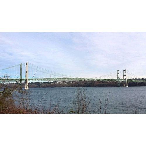 I love the Tacomanarrowsbridge :) PNW Tacomanarrows Tacomagram northwestisbest washington narrowspark