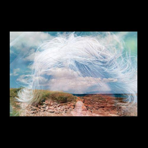 Nuages dépeignés. Clouds And Sky Superposition Hair EyeEm Nature Lover EyeEm Best Shots EyeEm Best Edits EyeEmBestPics Seaside Sky And Clouds EyeEmBestEdits