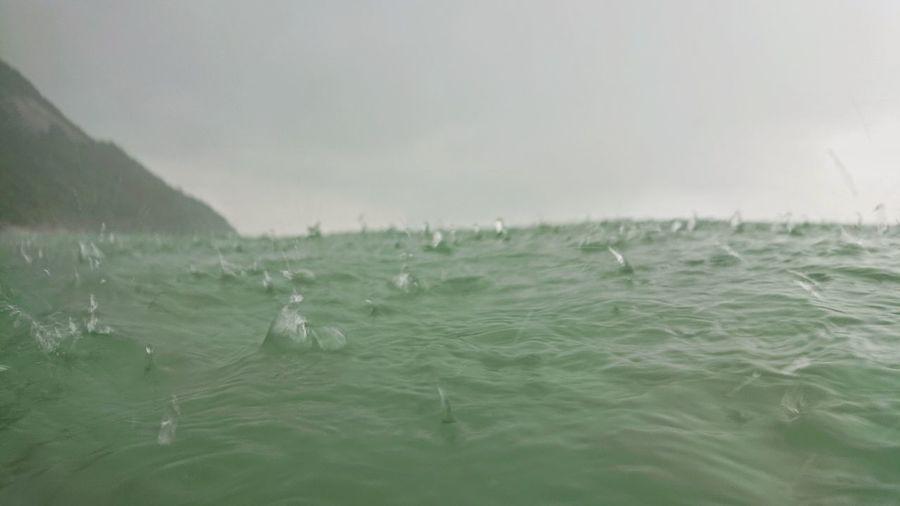 rain Water Sea
