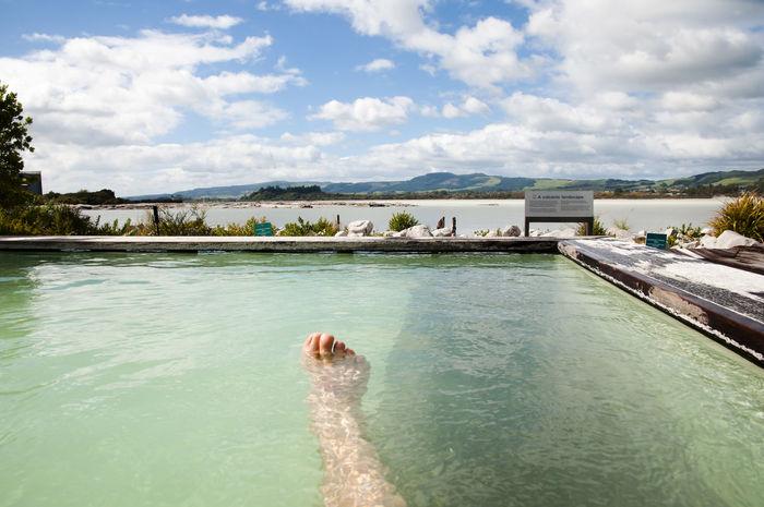 Geothermal Spa - New Zealand NZ Rotorua  Geothermal  Geothermal Spa Hot Spring New Zealand Spa Turquoise Water