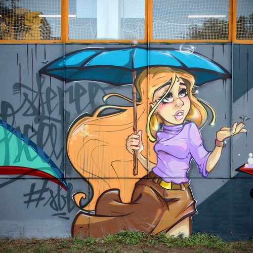 Another Character made on a rainy Day with my Super Bad Boys Crew mate Stan/Nats and Raws from the OFF Crew!! Stereoheat Graffiti Street Art