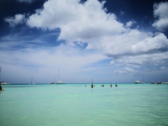 Saona, Republica Dominicana Water Nautical Vessel Sea Beauty Beach Blue Adventure Yacht Tourist Resort Tropical Climate