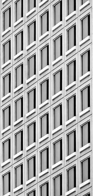 Window Built Structure Building Design Building Exterior Building Pattern Black And White Light And Shadow Square Wall Modern Architecture Condominium Apartment Buildings Texture Shape Abstract Concrete Wall Cement Wall Art