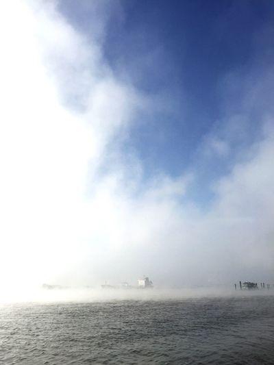 Fog Elbe river First Eyeem Photo
