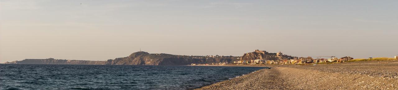 Beach Cityscape Milazzo Outdoors Panorama Sunset