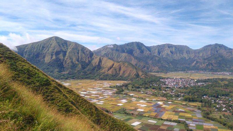 Picture in my head Mountain Scenics Mountain Range Agriculture Field Landscape Nature Rural Scene Outdoors Cloud - Sky Beauty In Nature Travel Destinations Sembalun Village Lombok Explorelombok Wonderful Indonesia Road No People Beauty Day Sky Winding Road Tree Indonesia Photography
