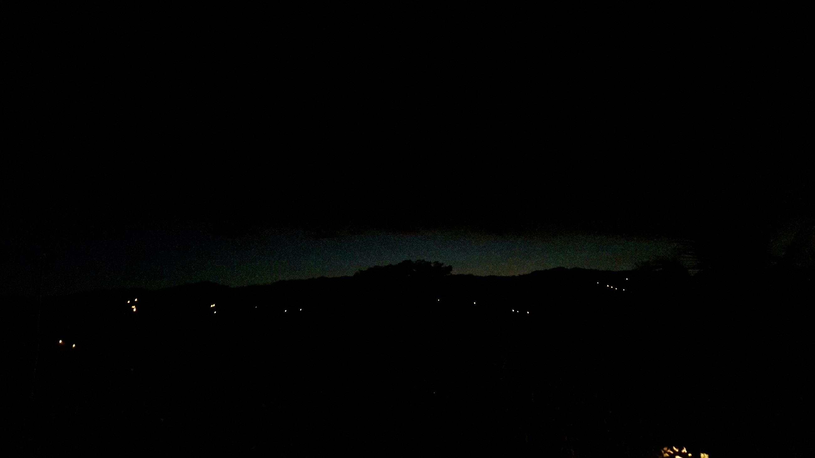 night, silhouette, scenics, copy space, tranquil scene, tranquility, dark, beauty in nature, sky, moon, nature, illuminated, mountain, idyllic, dusk, landscape, clear sky, outdoors, no people, majestic