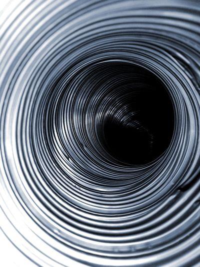 Backgrounds Full Frame No People Close-up Metal Metallic Spiral