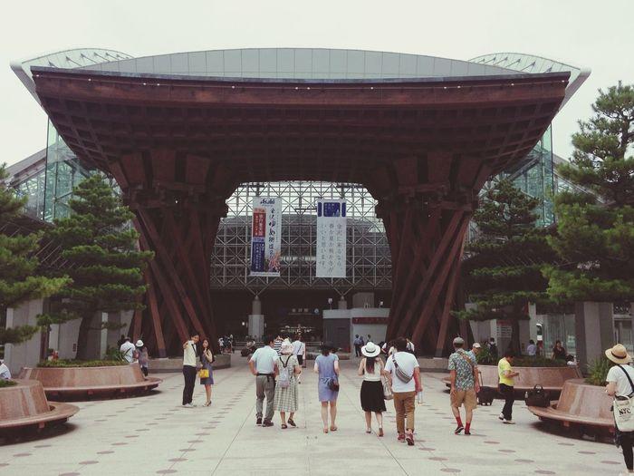 Kanazawa Station 新名所 北陸新幹線