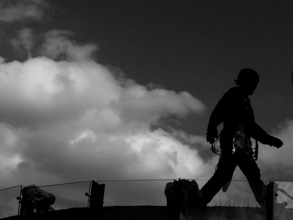 Walking in the sky series... Only Men One Person Cloud - Sky Sky Silhouette Magazinestreet Magazines Confuse Me Black & White EyeEmNewHere Hikaricreative Blackandwhite Photography Blackandwhitephotography Bnw_of_our_world Bnw_planet Bw AMPt_community Bw_photooftheday Magnumphotos Bnw_worldwide Bw_shotz EyeEm Blackandwhite Bws_worldwide Bnw_magazine Bw Photography