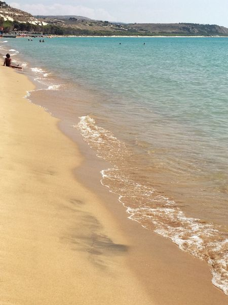 Costa Sud - Sicilia Nature Sicilia Sicily Water Sea Beach Land Sand Beauty In Nature Tranquility Scenics - Nature Nature Sky Tranquil Scene Holiday Vacations Trip Travel Destinations Environment Sunlight Coastline Travel Outdoors