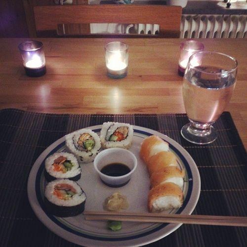 Blev så himla sugen på sushi. Sushi Torsdag Vardagslyx Livsnjutare
