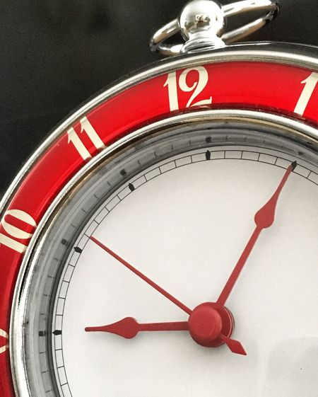 Time Time Red No People Clock Minute Hand Close-up Day Indoors  Clock Face Hour Hand Numbe Decor home