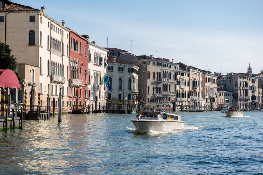 Venice, Italy Architecture Building Exterior Built Structure Canal City Day Nautical Vessel No People Outdoors Sky Transportation Venice Water Waterfront
