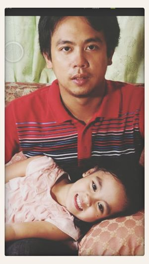 daddy with his junior