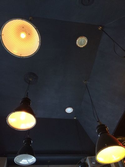 came here for more than 3 years and just noticed these awesome Lamp Light