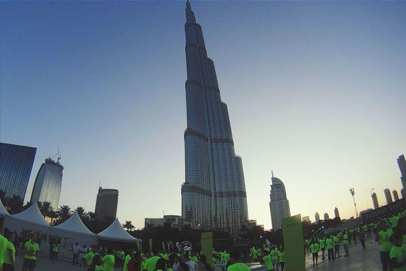 Dubai Burjkhalifa Travel Photography NikeRun