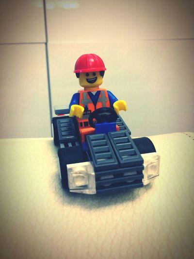 Emmet The Lego Movie LEGO Gocart Make It Yourself