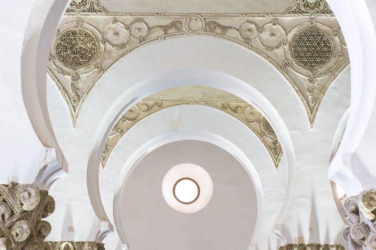 Synagogue Toledo Architecture Arch Architecture_collection España SPAIN White