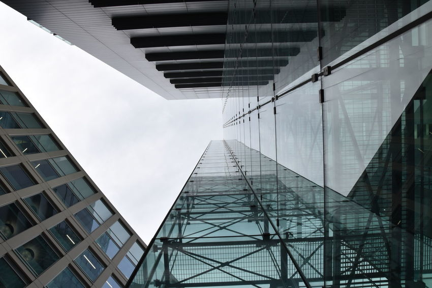 Architecture Modern Architecture Nikon Architecture Building Building Exterior Buildings & Sky Built Structure Day Glass Building Looking Up Architecture Low Angle View Modern No People Outdoors Sky Skyscraper