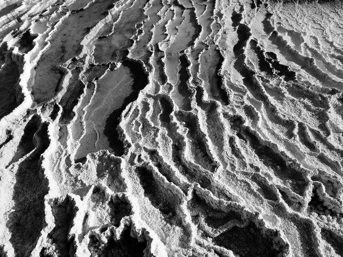 Hotspring Geothermal  Surfaces And Textures Backgrounds Full Frame Textured  Pattern Close-up Abstract Backgrounds