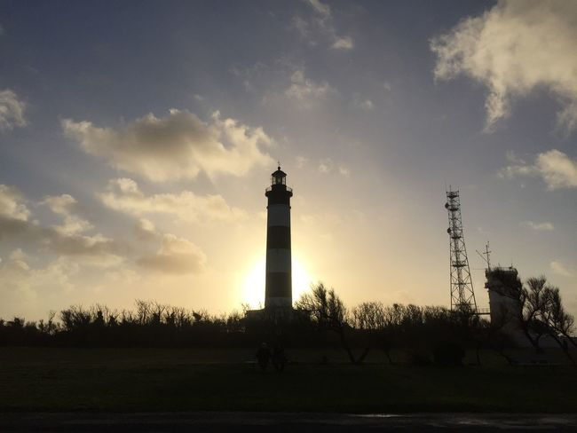Après «Carmen»🤩 Sky Cloud - Sky Architecture Built Structure Sunset Nature Outdoors Lighthouse Building Exterior Beauty In Nature Day