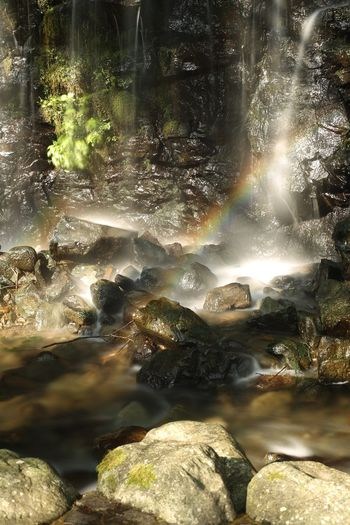 Splendor. EyeEm Nature Lover Waterfall Fukui Japan Canon5Dmk3 CarlZeiss Planar Rainbow