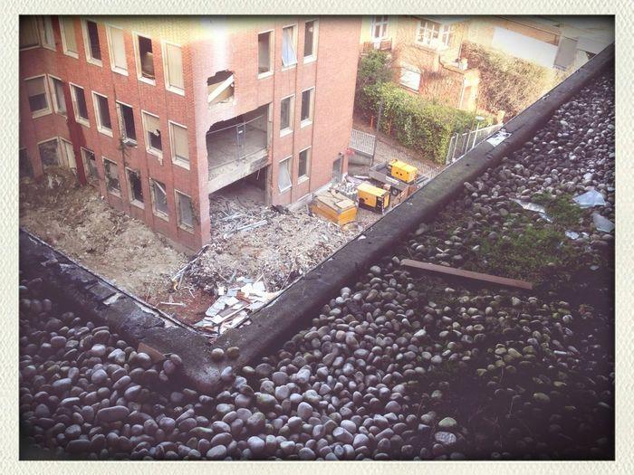 Urban Exploration Rooftops Urban Landscape Demolition