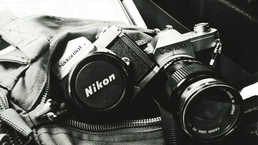 Everyday work gear. Canonphotography Canon Nikkormat FTn Nikkormat 35mm Film 35mmfilmcamera