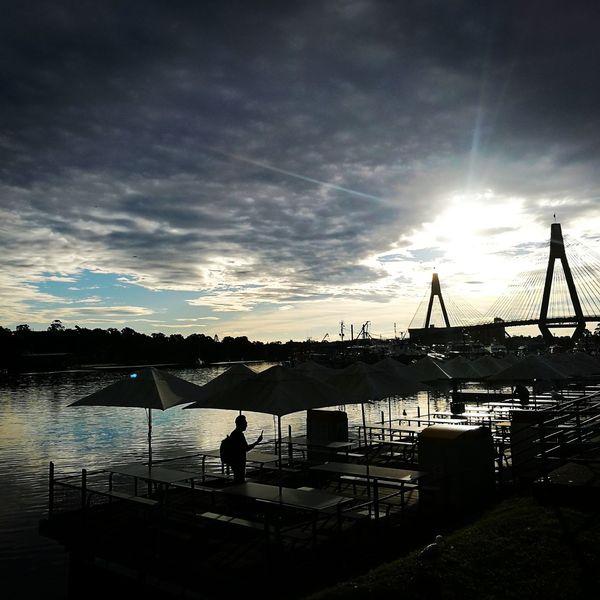 ANZAC Bridge FishMarket Against The Light