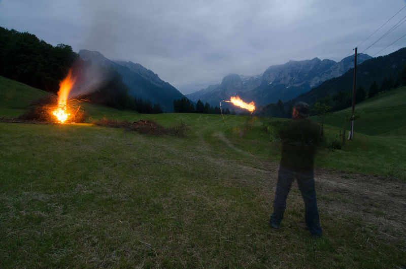 Archer Archery Burning Arrow Fire Fire And Flames