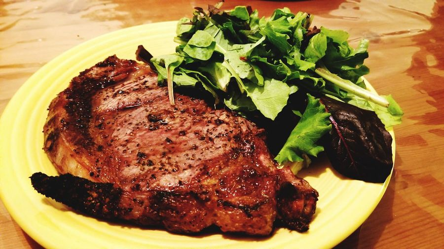 Grilled Ribeye Steak Food Food And Drink Plate Ready-to-eat Freshness Meat Close-up No People Grilled Meat Grilled Beef Table Ribeye Steak Food Photography Food Porn Foodphotography