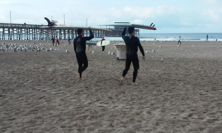 A Day At The Beach California Coast Having Fun :) Love The Water Riptide Sunny Day Surfingphotography