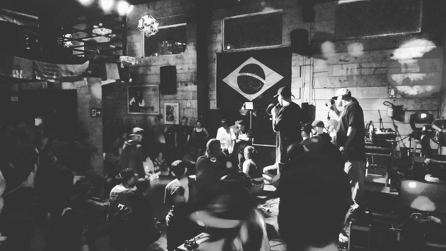 Brazil Rappers Rappersbattle Rap Crowd People Women Men Night City first eyeem photo