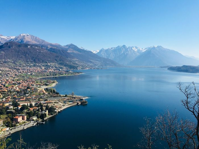 Dongo Dongo Comer See Lago Italy Water Mountain Scenics - Nature Sky Beauty In Nature Nature Mountain Range