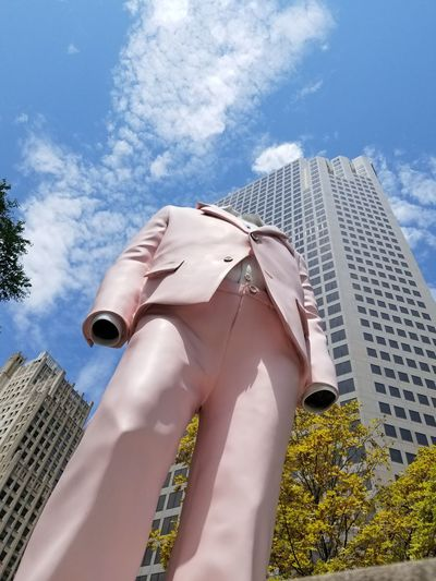 Stand Tall #Citygarden #streetphotography #St.Louis #streamzoofamily Stteamzooville Cloud - Sky Sky No People Architecture Outdoors Nature