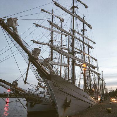 Kieler Förde Kielerwoche Nautical Vessel Transportation Mast Sky Outdoors No People Moored Day Built Structure Tall Ship Nature Architecture