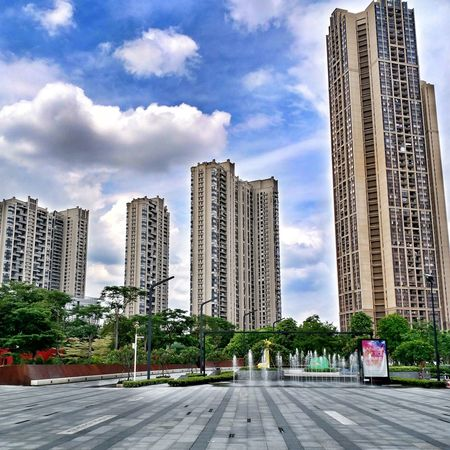 Architecture City Sky Modern Built Structure Building Exterior No People City Travel Architecture Guangdong 广东 Foshan,China 佛山 China Photos Foshan China