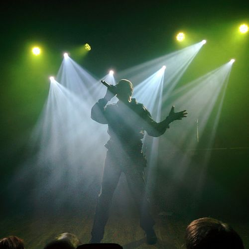 Music Performance Singer  Front242 Stage Light